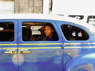 Photograph - A Stunning Lady In Havana Cuba  by Funkpix Photo Hunter