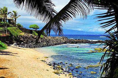 Photograph -  A Stunning Maui Beach by Kirsten Giving