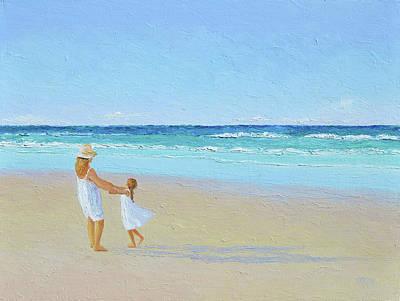 Painting - A Summer Dance by Jan Matson