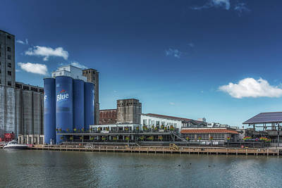 Photograph - A Summer Day At Riverworks by Guy Whiteley