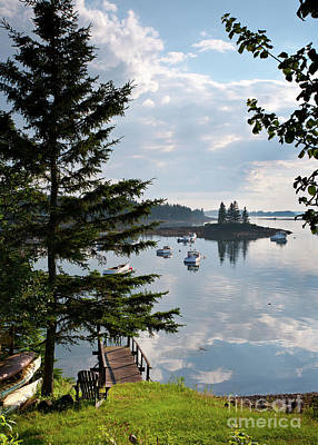 Photograph - A Summer Day In Port Clyde, Maine #8513 by John Bald