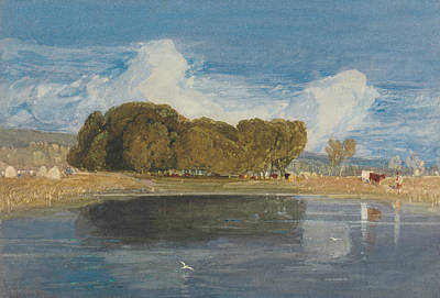 18th Century Painting - A Summer Day by John Sell Cotman