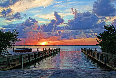 Photograph - A Summer Morning by HH Photography of Florida