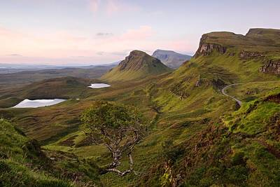 Photograph - A Summers Dawn View Of The Trotternish Ridge by Stephen Taylor