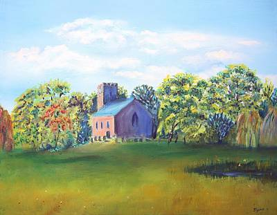 Painting - A Summer's Day by Elizabeth Lock