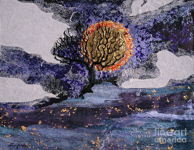 Mixed Media - A Sun So Bright by Stanza Widen