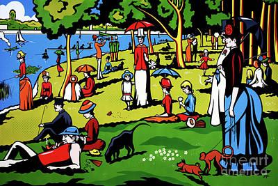 A Sunday Afternoon On The Island Of La Grande Jatte Original