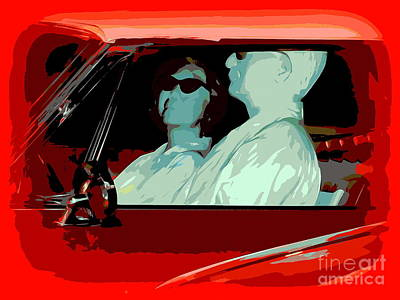 Digital Art - A Sunday Drive by Ed Weidman