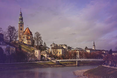 Photograph - A Sunday Stroll In Salzburg by Carol Japp