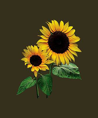 Photograph - A Sunflower Mommy's by Susan Savad