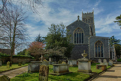 Photograph - A Sunny Afternoon At St. Mary's by Leah Palmer