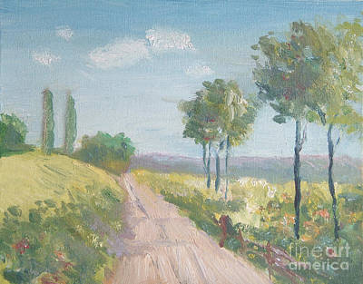 Painting - A Sunny Day - After Courtland Butler by Paul Thompson