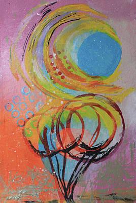 Mixed Media - A Sunny Day by April Burton
