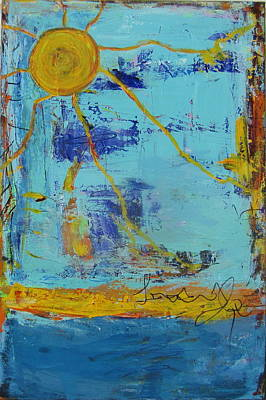 Painting - A Sunny Day by Francine Ethier
