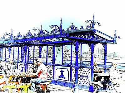 Photograph - A Sunny Day On Eastbourne Pier by Dorothy Berry-Lound