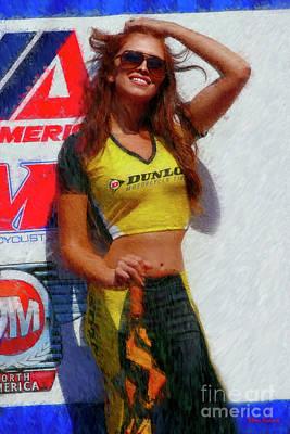 Photograph - A Sunny Dunlop Girl Breeze by Blake Richards