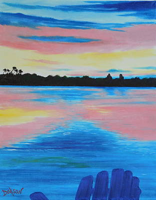 Painting - A Sunrise On Siesta Key by Lloyd Dobson