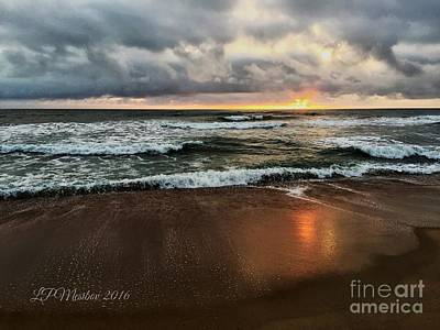 Photograph - A Sunrise Over Kitty Hawk by Linda Mesibov