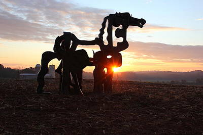 Photograph - A Sunrise The Iron Horse Art by Reid Callaway