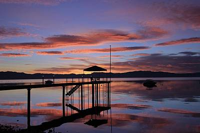 Art Print featuring the photograph A Sunrise To Wake The Dead  by Sean Sarsfield