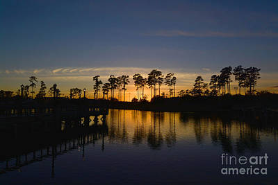 Photograph - A Sunset At Market Common by Kathy Baccari