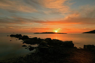 Photograph - A Sunset In Ibiza by Vicen Photography