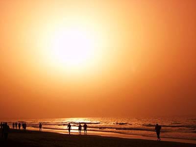 A Sunset Walk Original by Sunaina Serna Ahluwalia