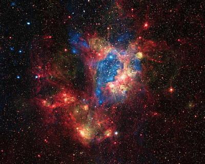 Supernovae Photograph - A Surprising Superbubble by Nasa