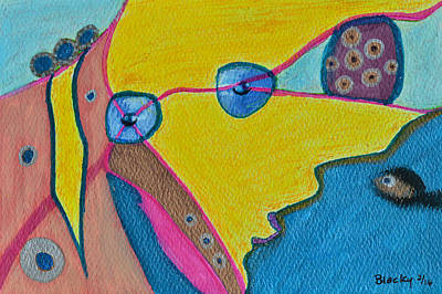 Painting - A Surreal Viewpoint by Donna Blackhall