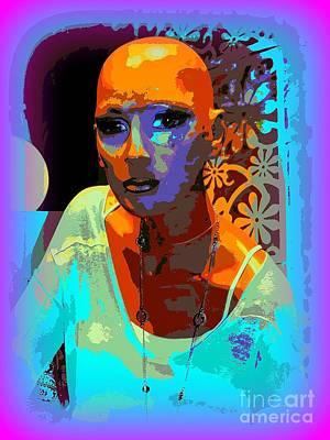 Digital Art - A Survivor's Strength by Ed Weidman