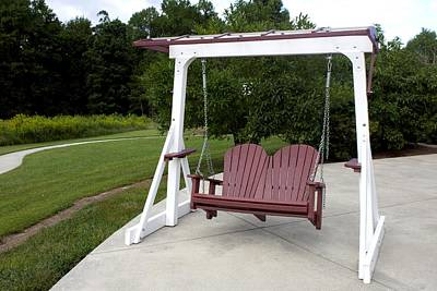 Photograph - A Swing For Two by Carolyn Ricks