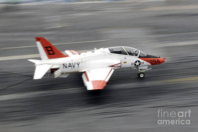 High Speed Photograph - A T-45c Goshawk Training Aircraft Makes by Stocktrek Images