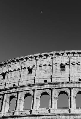Ancient Rome Photograph - A Tale Under The Silver Moon by Andrea Mazzocchetti