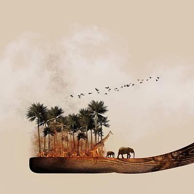 Destinations Digital Art Digital Art - A Taste Of Africa by Jonny Lindner