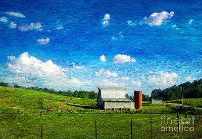 Painting - A Taste Of Country Heaven Iconic Rural Tennessee  by Kimberlee Baxter