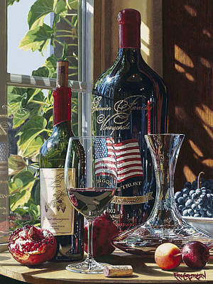 Cakebread Painting - A Taste Of Glory by Eric Christensen