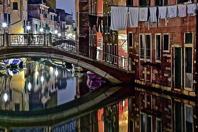 A Taste Of Venice Art Print by Frozen in Time Fine Art Photography