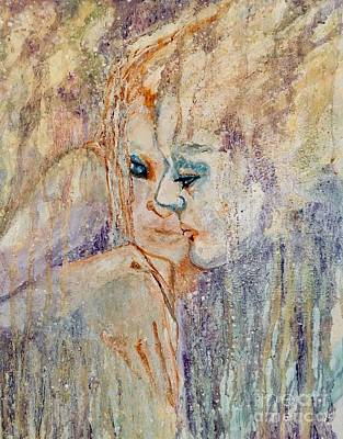 Painting - A Tender Moment by Anne Buffington