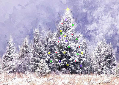 Photograph - A Teton Christmas by Clare VanderVeen