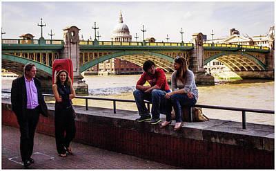 Photograph - A Thames View by Stewart Marsden