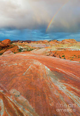 Photograph - A The End Of The Rainbow by Mike Dawson