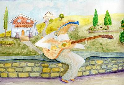 Painting - A Time For Music by Jim Taylor