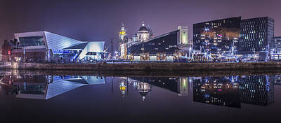 Albert Dock Photograph - A Time For Reflection by Paul Madden