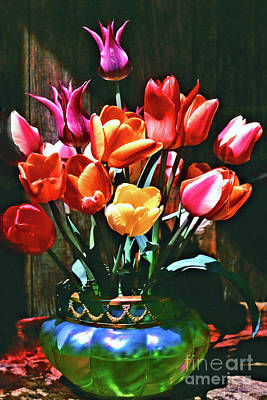 A Time For Tulips Art Print by Michael Durst