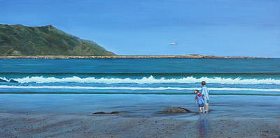 Aotearoa Painting - A Time Of Wonder by Karen Wood