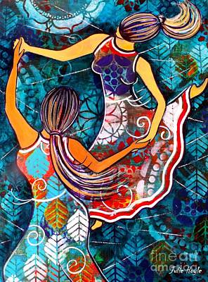 Painting - A Time To Dance by Julie Hoyle