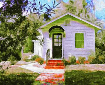 Photograph - A Tiny House In Beaufort by Patricia Greer