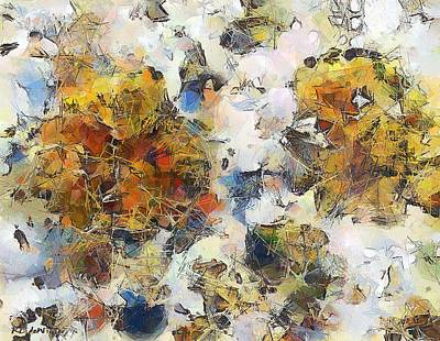 Unconscious Digital Art - A Tiptoe Through The Subconscious by RC deWinter