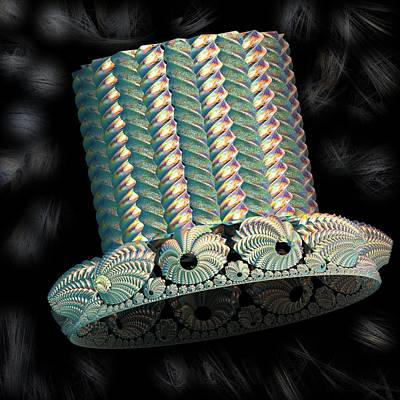 A Top Hat Fancy That Art Print