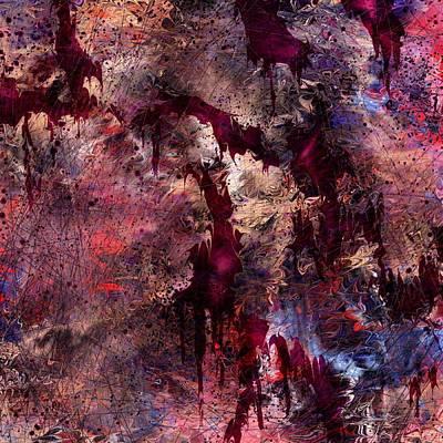 Hurt Digital Art - A Tortured Heart by Rachel Christine Nowicki